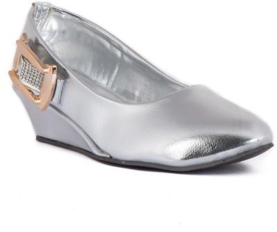 Babes Girls Silver Sandals