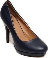 Flat n Heels Women Blue Heels
