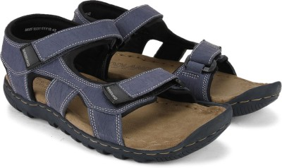 Woodland Men Blue Sandals
