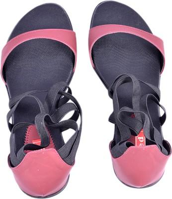 RED Bantus Women Maroon Heels