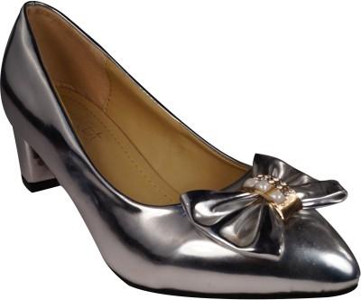 Ladela Women Silver Heels