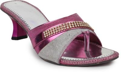 Beonza Women Pink Heels