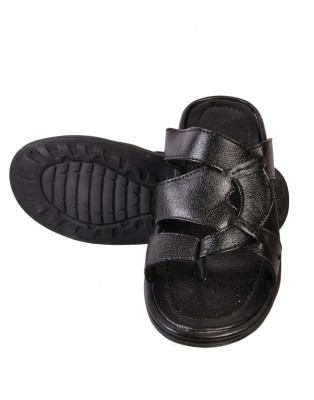Urban Woods Men Black Sandals