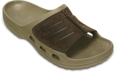 Crocs Men Khaki Flats