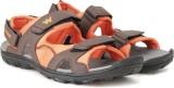 Wildcraft Men Orange Sports Sandals