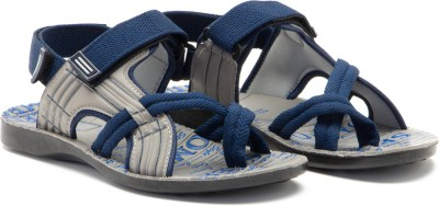 Provogue Men Blue, Grey Sandals