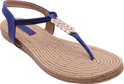 Royal Collection Women Blue Flats