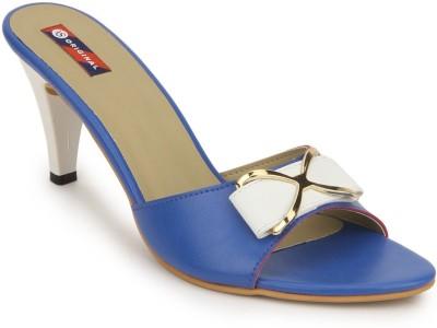 American Swan Women Blue Heels
