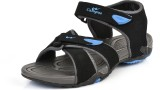 Campus Men Black - Grey Sandals