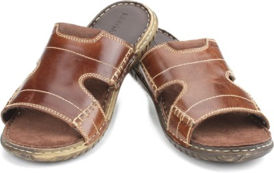 Red Tape Men Brown Sports Sandals