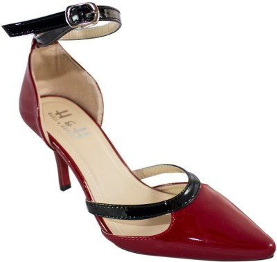 Heels & Handles Women Red Heels