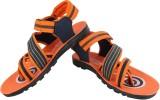 Bersache Men Orange Sandals