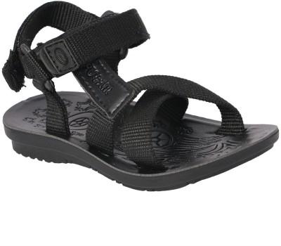 11e Boys Black Sandals