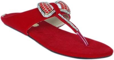 Jipsi Women Red Flats