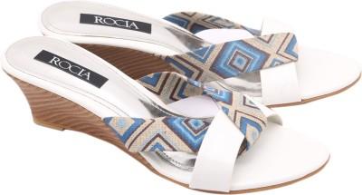 Regal Shoe Women White Wedges