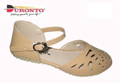 DURONTO Girls Beige Heels