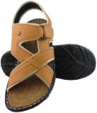Elvace Men Tan Sandals