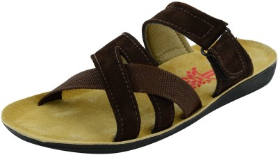 Topper Saheb Men Olive Sandals