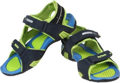 Hytech Men Blue, Green Sandals