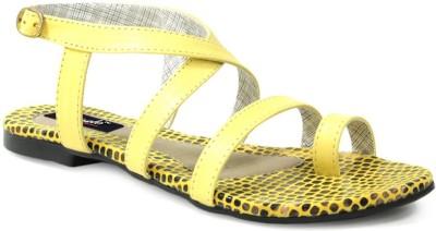 GISOLE Women Yellow Flats