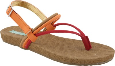 Ncollections Women Orange Flats