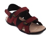 Fucasso Men Red Sandals