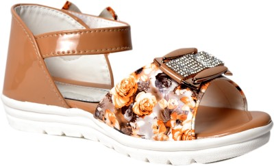 Crayon&collection Girls Brown Sandals