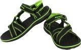 Bersache Men Black Sandals
