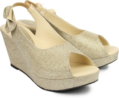 Maccaino Women Beige Wedges