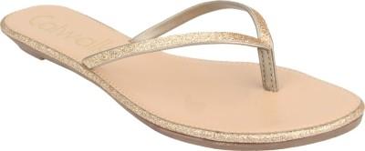 Catwalk Women Gold Flats