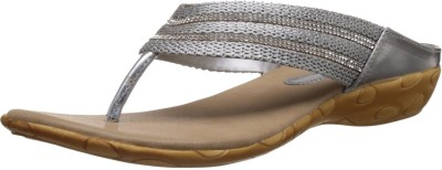 Kally Zari Women Silver Flats