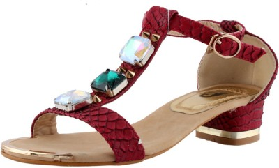 Totes Gallore Women Red Heels