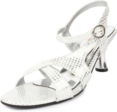 Cara Mia Women Silver Heels