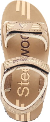 Steelwood Men Brown Sandals