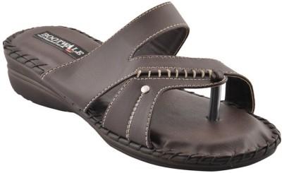 Bootwale Women Brown Flats
