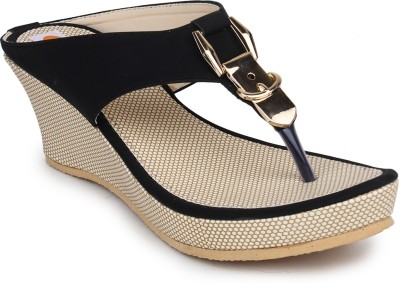 Digni Women Black Wedges
