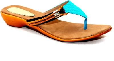 Angeela Women Blue Flats