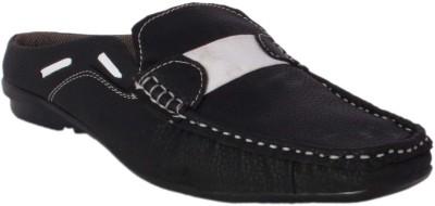 Vajazzle Men Black Sandals