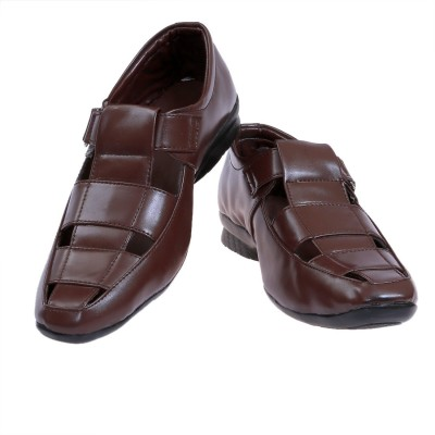 presidency Men Brown Sandals
