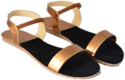 VANESSA Women Brown Flats