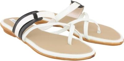 Allinyou Women White Flats