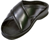 Aramish Men Black Sandals