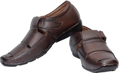 Skoene Men, Boys Brown Sandals