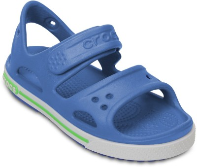 Crocs Baby Boys Blue Sandals