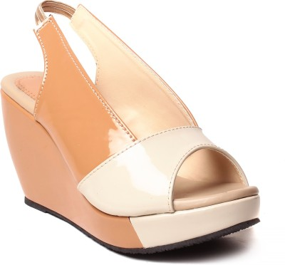 Unique Selection Women Beige Heels
