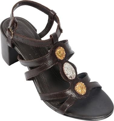 Salt N Pepper 14-142 Wendy Brown Women Brown Heels