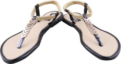 Footings Women Black Flats