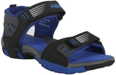 ABS Boys Blue, Grey Sandals