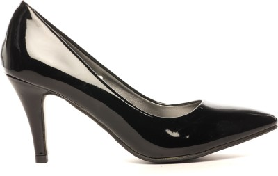 Pavers England Women BLACK Heels at flipkart