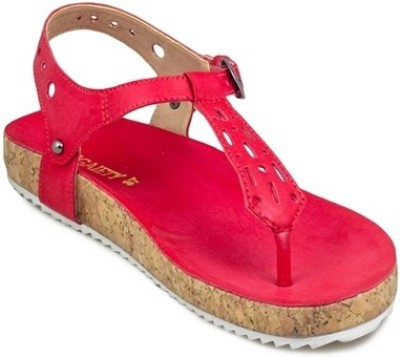 Gaiety Women Red Flats